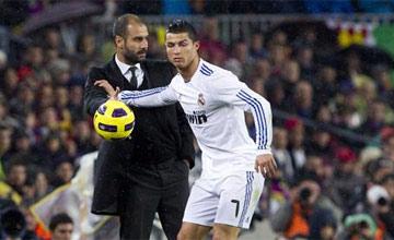 Ronaldo tuupaa Guardiolaa