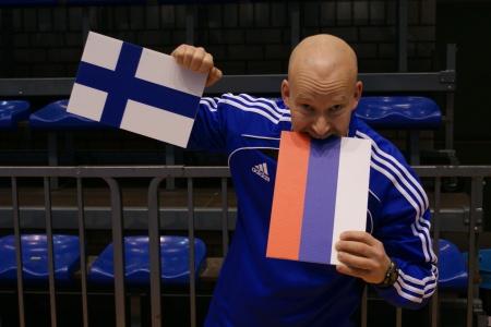 Venaja oli viela liian iso suupala Suomelle, vaikka ennen ottelua itseluottamus ja usko omaan tekemiseen oli viela huipussaan.