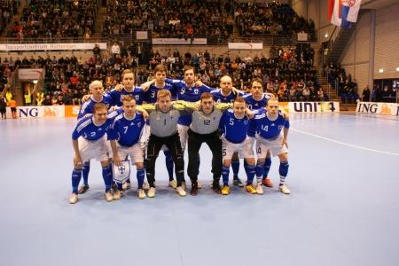 Futsalmaajoukkue Hollantia vastaan